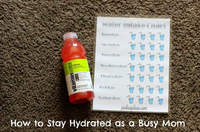 How to Stay Hydrated When You're a Busy Mom