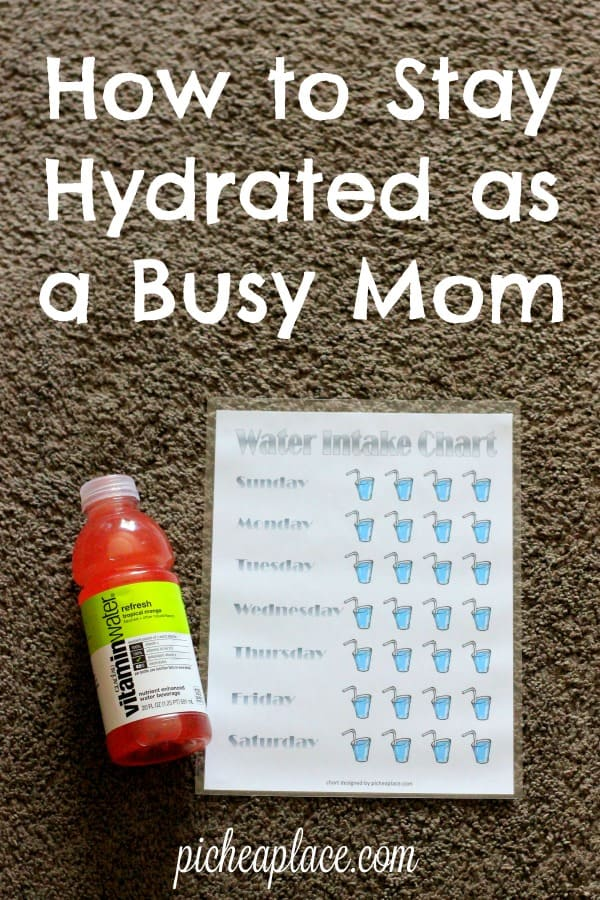 Staying hydrated as a busy mom is important, but it can be difficult to be intentional about drinking water. Here is my top tip for how to stay hydrated...