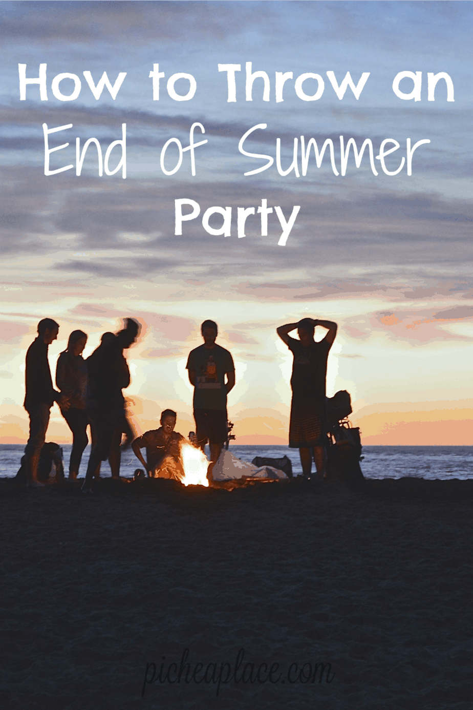 When the summer comes to an end, it means that returning to school is right around the corner. Celebrate the end of summer by throwing an end of summer party for your friends and family!