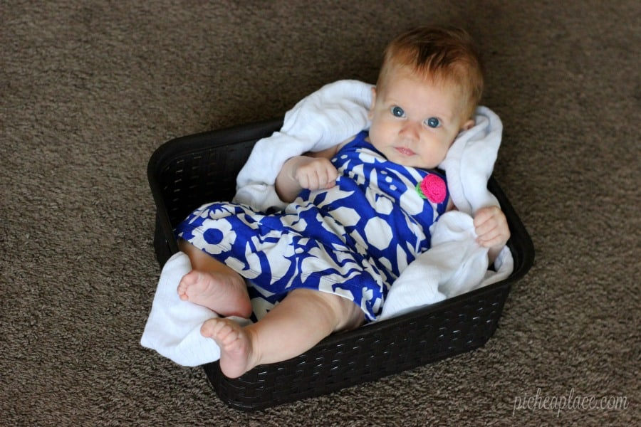 My Favorite Baby Laundry Soap + How to Organize Baby Laundry in Small Spaces