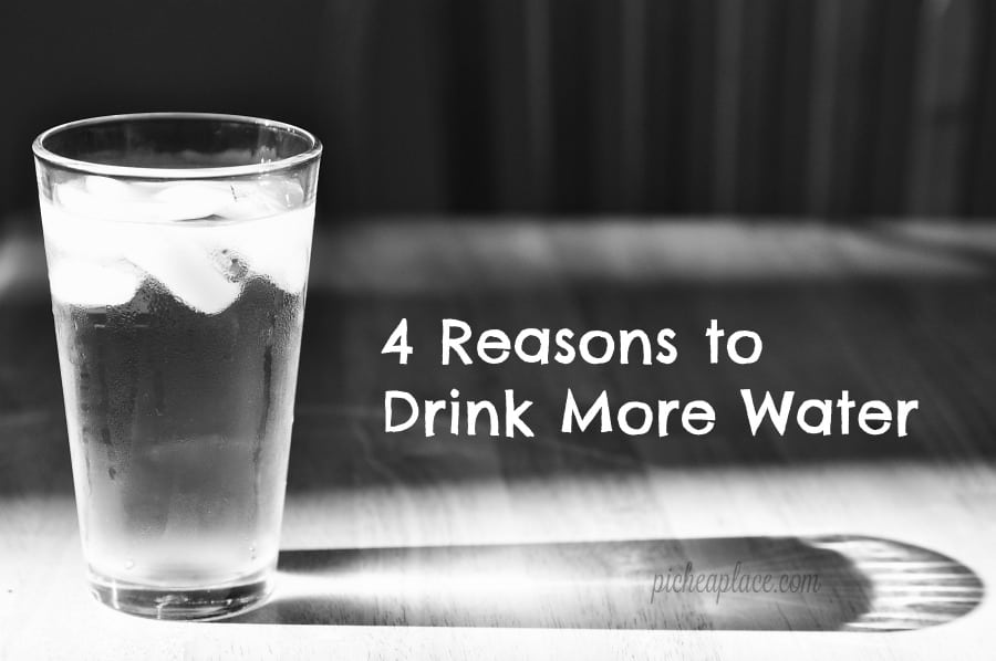 As a busy mom, I struggle to drink enough water every day, but I know that it's so important. Staying hydrated not only helps my body but it helps my brain, too. I've come up with a fairly good system for drinking more water each day, but in case you need to be convinced of the importance of drinking water, here are four reasons to drink more water every day.
