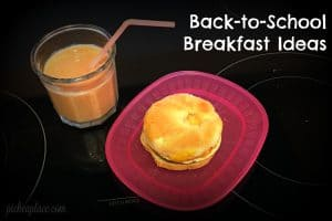 Mornings at our house are slightly chaotic, especially now that we're headed back-to-school. Getting four kids up, dressed, fed, and the oldest two out the door in time to catch the school bus can be a challenge. I need a quick and easy breakfast solution that will fill them up and leave them fueled until lunch!
