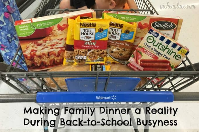 Making Family Dinner a Reality During Back-to-School Busyness