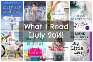 What I Read - July 2016 Edition
