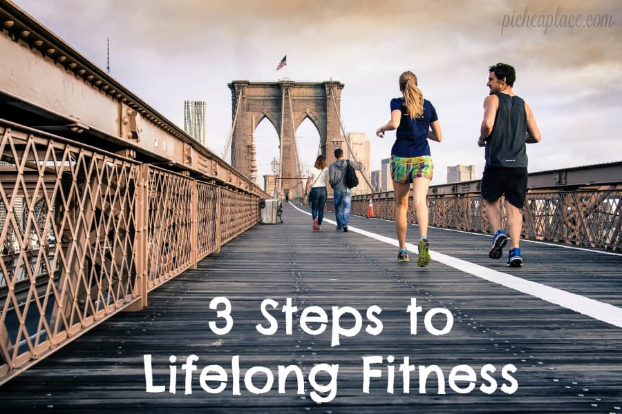 When you incorporate fitness into your life, you will live longer and be healthier and happier. Here are 3 steps to make lifelong fitness a reality...