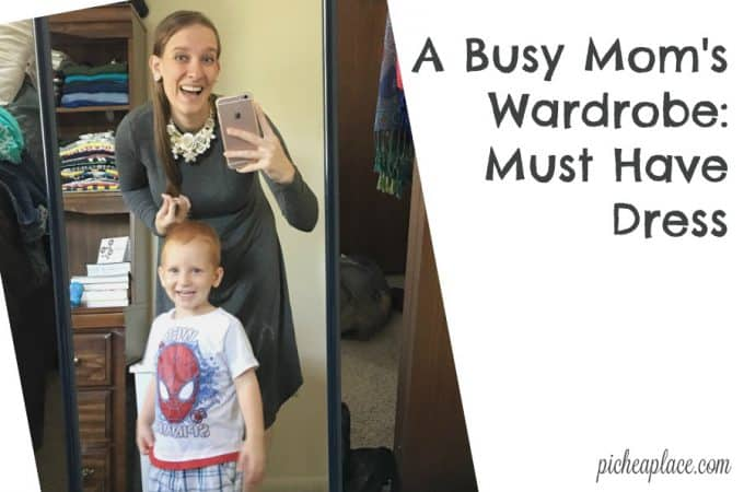 Busy Mom's Wardrobe: Must Have Dress
