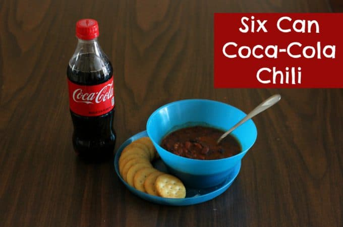 Six Can Coca-Cola Chili | quick and healthy, yet hearty and filling, comfort food - perfect for game day or family dinner