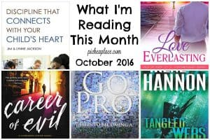 A busy work-from-mom makes time to read... here's what she is reading this month.