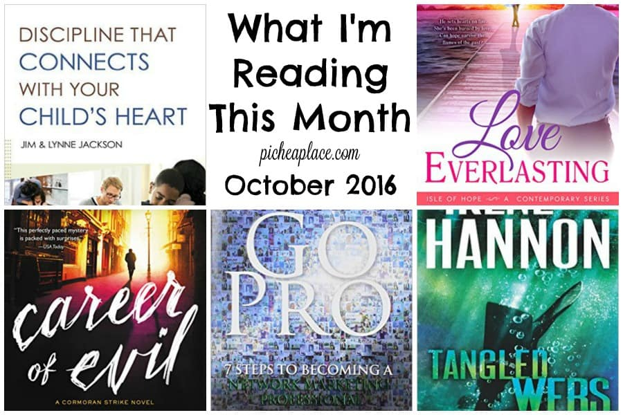 A busy work-from-mom makes time to read... here is what she is reading this month.