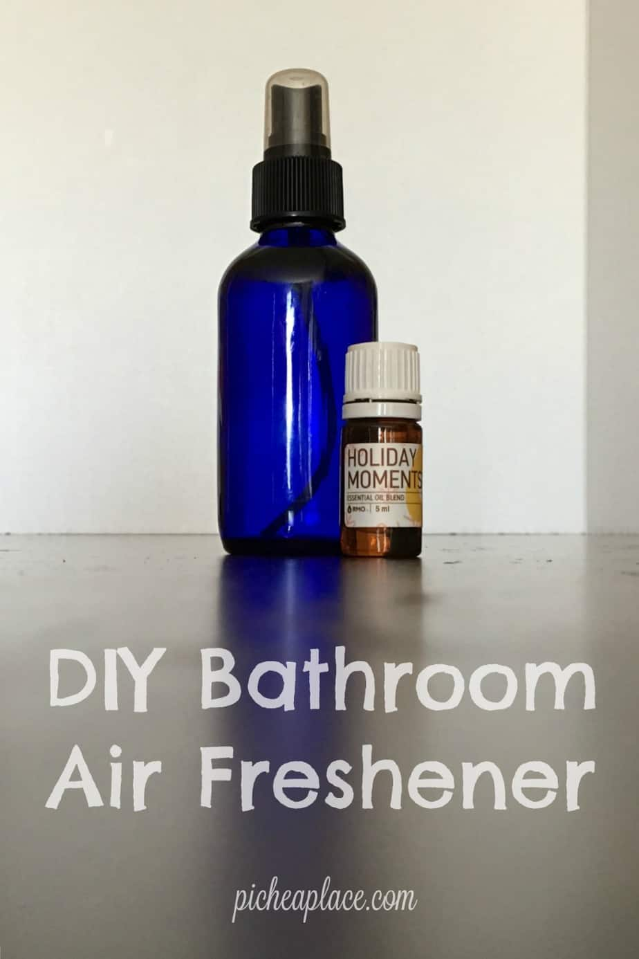 DIY Bathroom Air Freshener And Mini-Bathroom Makeover