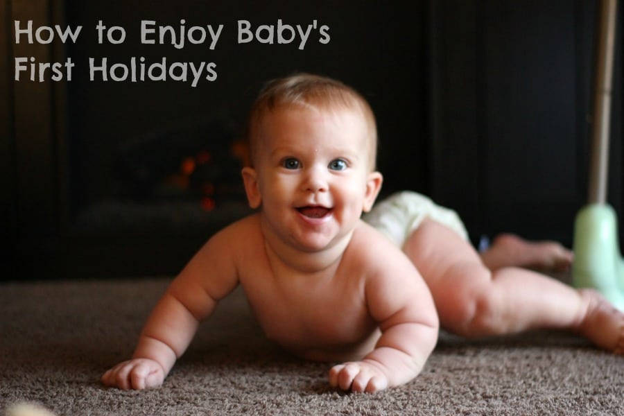 How to Enjoy Baby's First Holidays | When your family is constantly on-the-go during the holidays, it's easy to overlook baby's needs and find yourself frustrated at having to unexpectedly deal with running out of diapers during Thanksgiving dinner or having to leave a Christmas party early because she won't stop crying. Being prepared with a few simple tips and tools can make the holidays much more enjoyable for everybody!