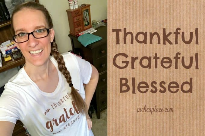 I'm Thankful, Grateful, Blessed. Are You?