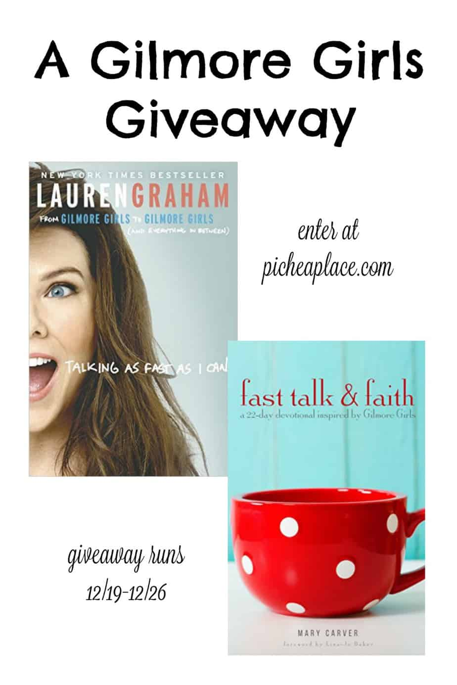 A Gilmore Girls Giveaway - ends December 26th