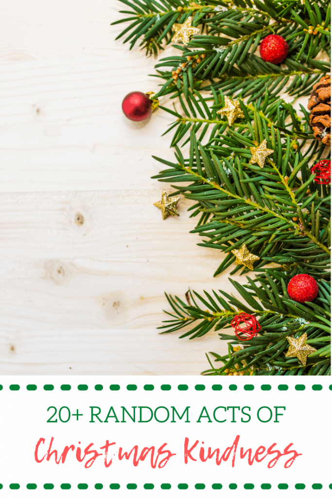 20+ Random Acts of Christmas Kindness
