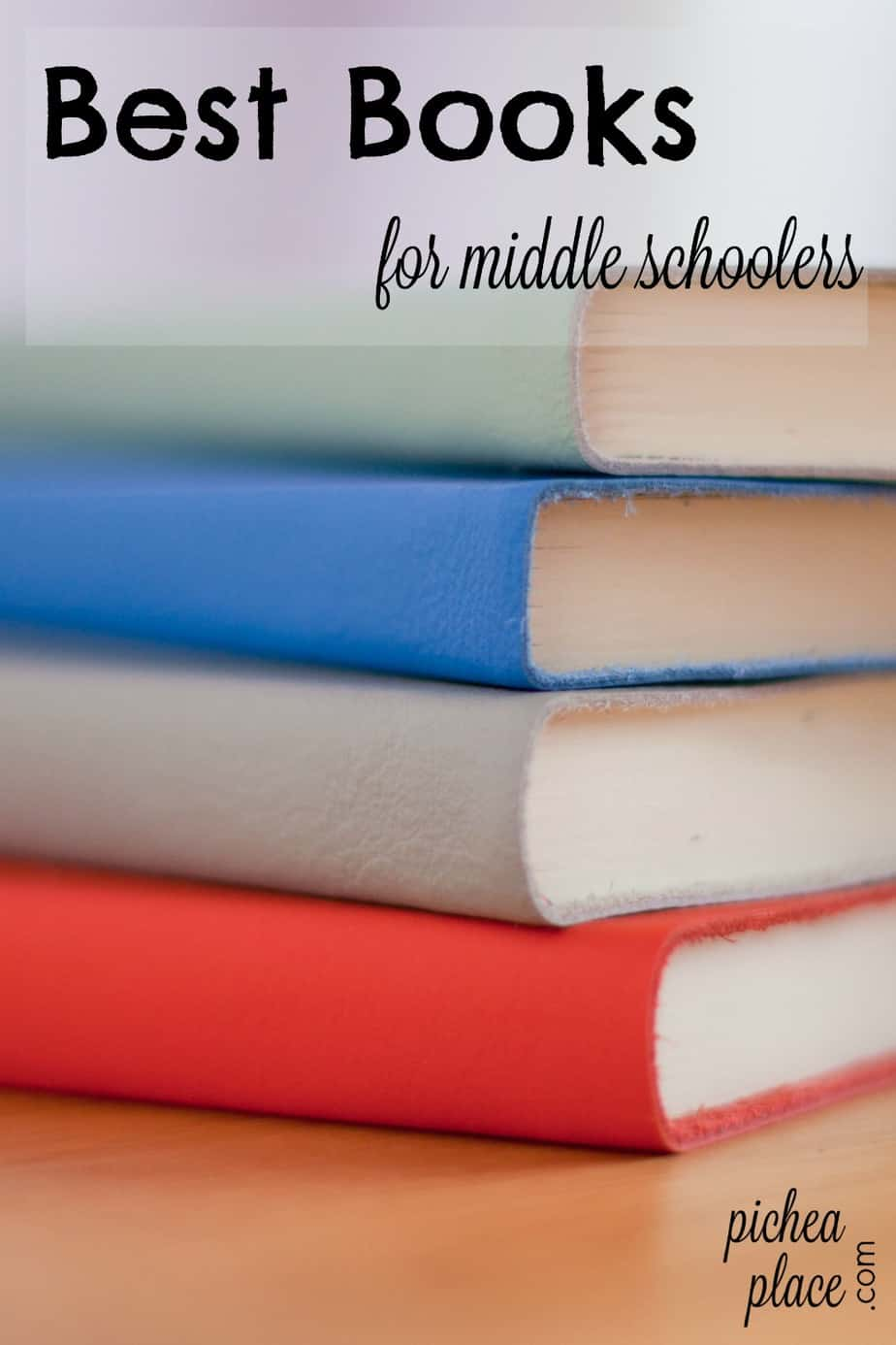 best books for middle schoolers