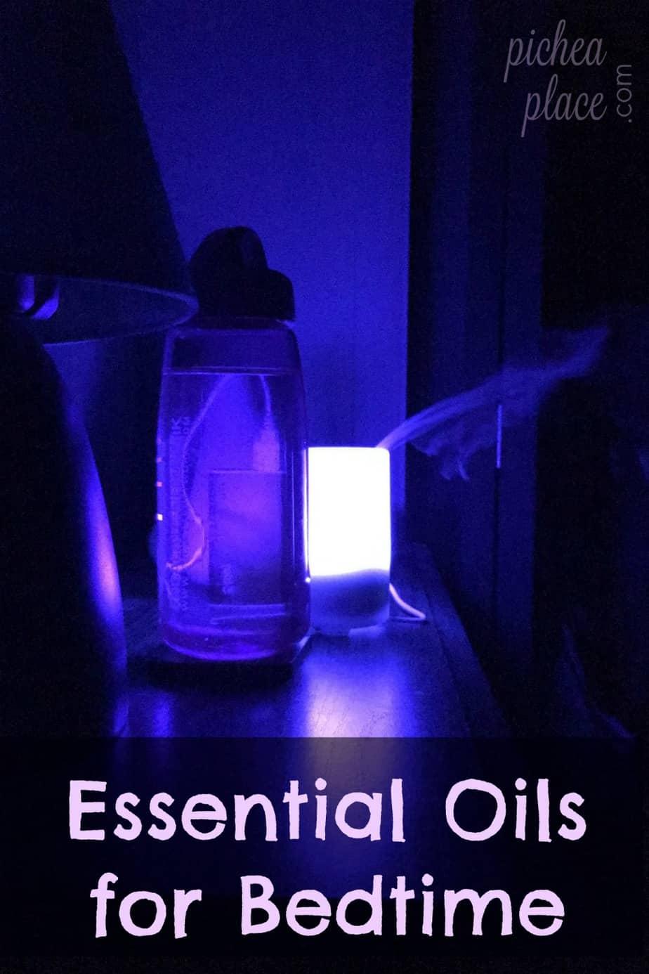 essential oils for bedtime