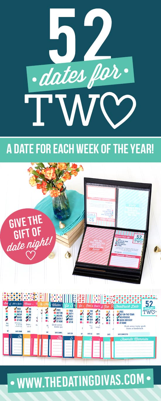 52 Dates for Two | fun activity date ideas for busy parents