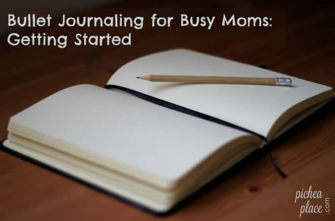 Bullet Journaling for Busy Moms: Getting Started