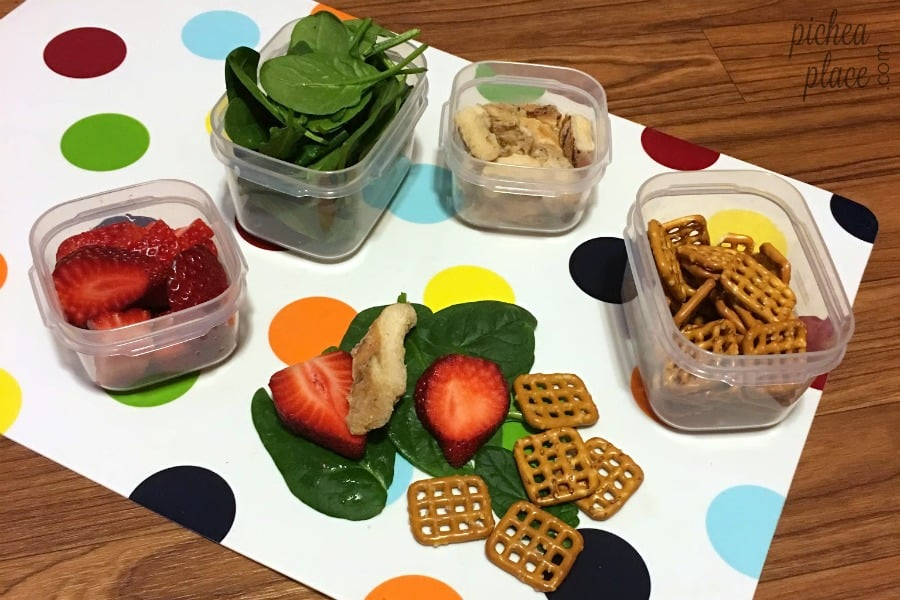 Easy Healthy Lunch Meal Prep for Busy Moms + Easy Grilled Chicken Salad Recipe