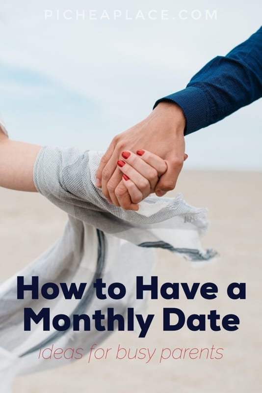 Connecting with your spouse while raising kids can be a challenge, but these easy monthly date ideas for busy parents will help you be intentional about prioritizing your most important relationship - the one that will last longer than your kids will live in your home!