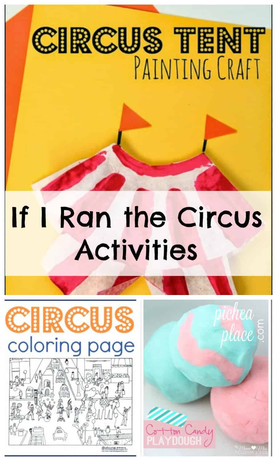 If I Ran the Circus activities for kids | Dr Seuss activities for kids