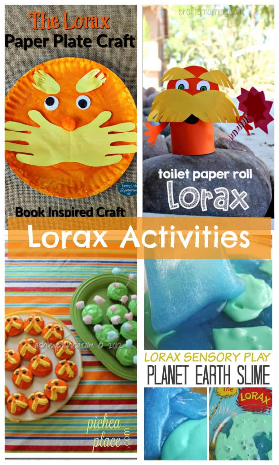 The Lorax activities for kids | Dr Seuss activities for kids