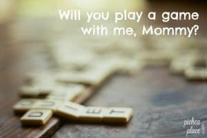Playing Games with Kids | family game night ideas