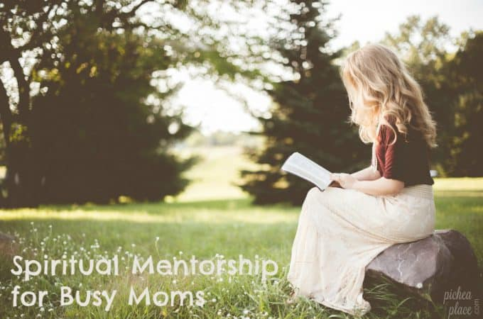 Spiritual Mentorship for Busy Moms