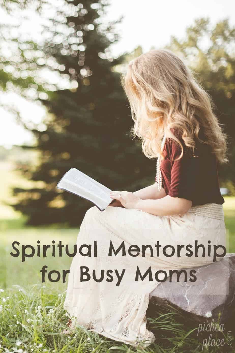 Spiritual Mentorship for Busy Moms: filling the gap in my busy life with books that encourage me in my spiritual growth and development