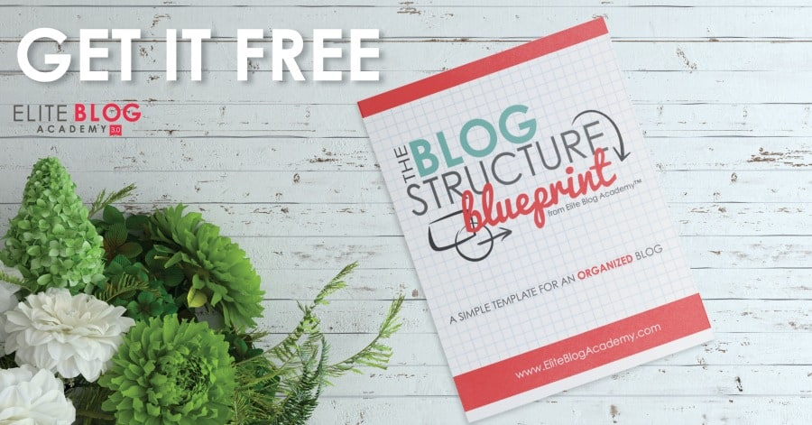 Blog Smarter, Not Harder | The Blog Structure Blueprint - a free eBook