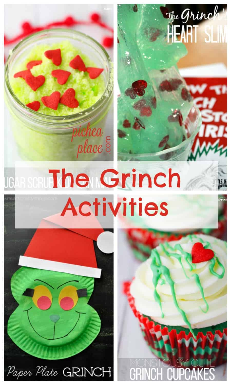 The Grinch activities for kids | Dr Seuss activities for kids