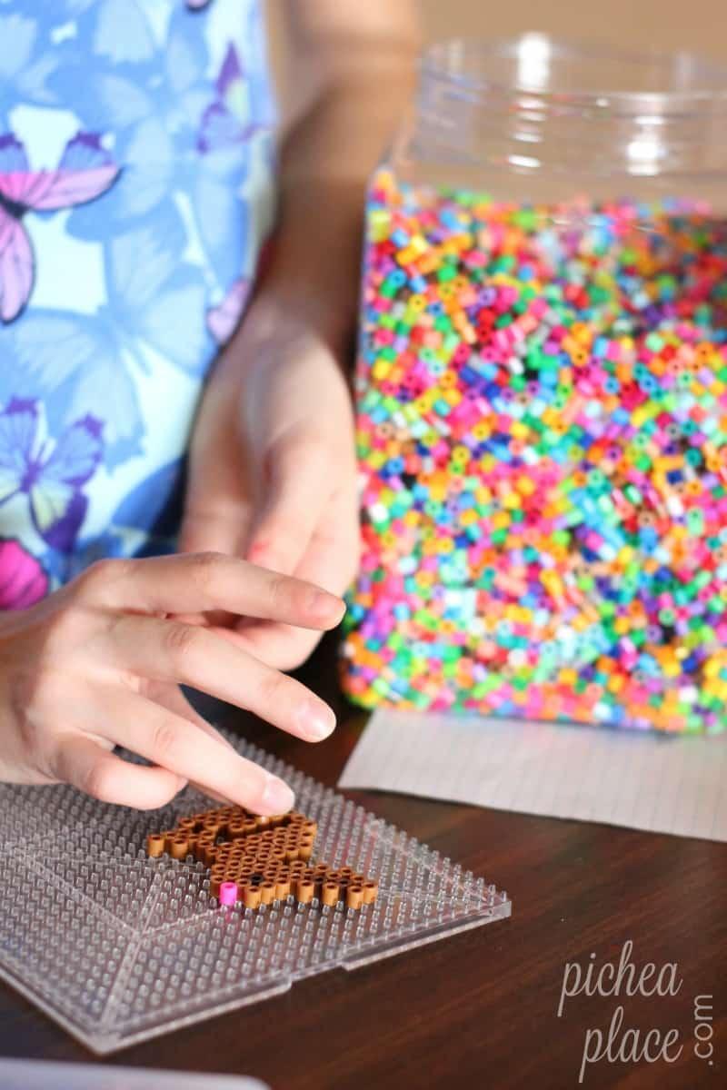 Spring & Easter Perler Bead Patterns for Kids