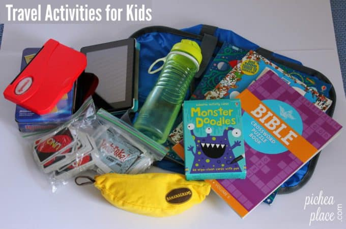 Travel Activities for Kids: Ways To Keep Children Entertained When Traveling as a Family