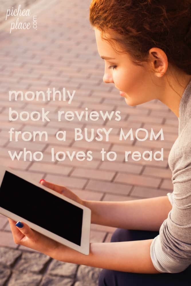 monthly book reviews from a busy mom who loves to read