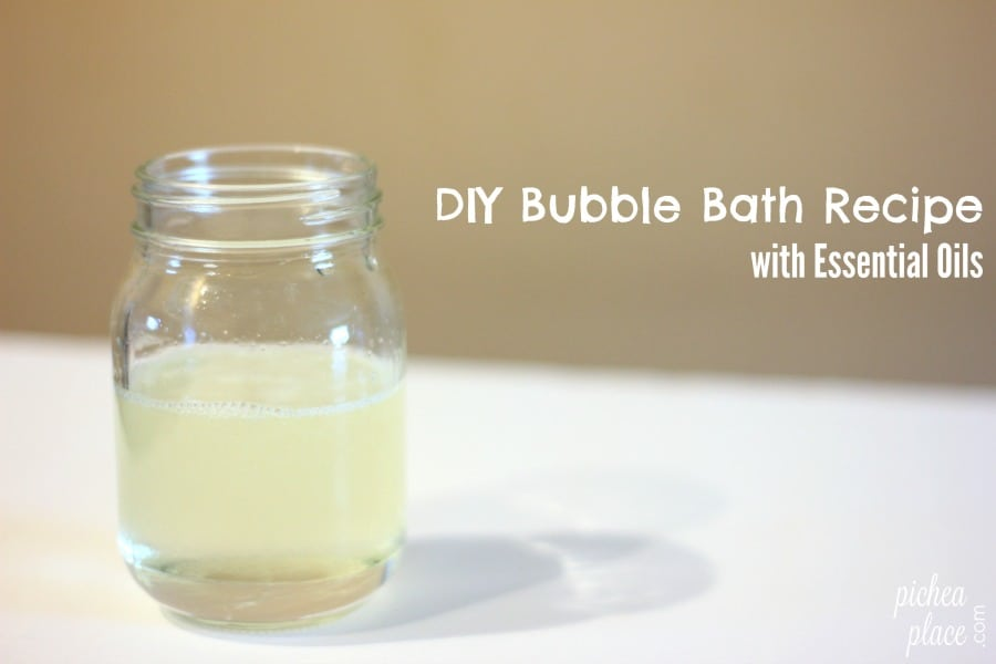 DIY Bubble Bath Recipe with Essential Oils