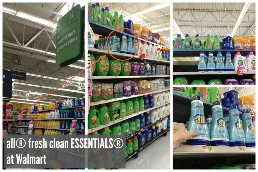 all® fresh clean ESSENTIALS® at Walmart