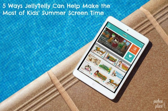 5 Ways JellyTelly Can Help Make the Most of Kids' Summer Screen Time