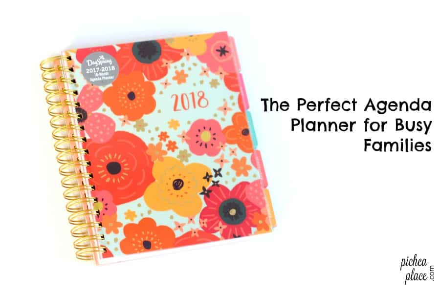 The Perfect Family Planner For A Busy Family  Month Agenda Planner