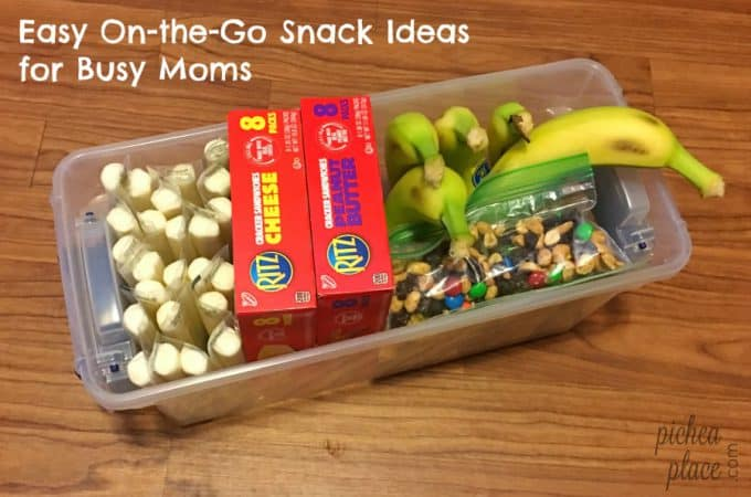 With a little preparation, busy moms can stay out of the drive-thru and keep their kids satisfied with easy on-the-go snack ideas for busy moms.