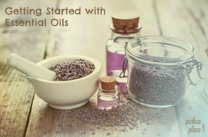 Getting Started with Essential Oils: Mom's Essential Starter Kit