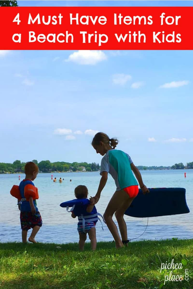 4 Must Have Items for a Beach Day Trip with Kids