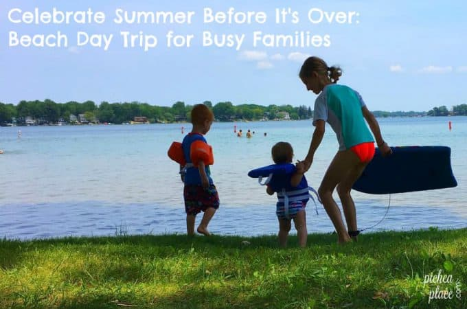 Celebrate Summer Before It's Over: Beach Day Trip for Busy Families
