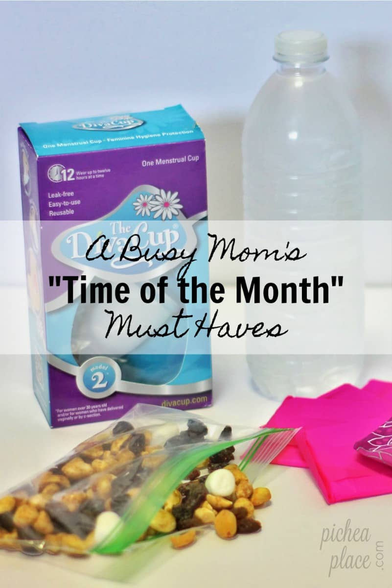 Using a menstrual cup during menstruation helps make my monthly cycle less expensive, less messy, and more comfortable, making it a must have for busy moms!