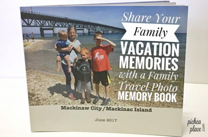 Share Your Family Vacation Memories with a Family Travel Photo Memory Book