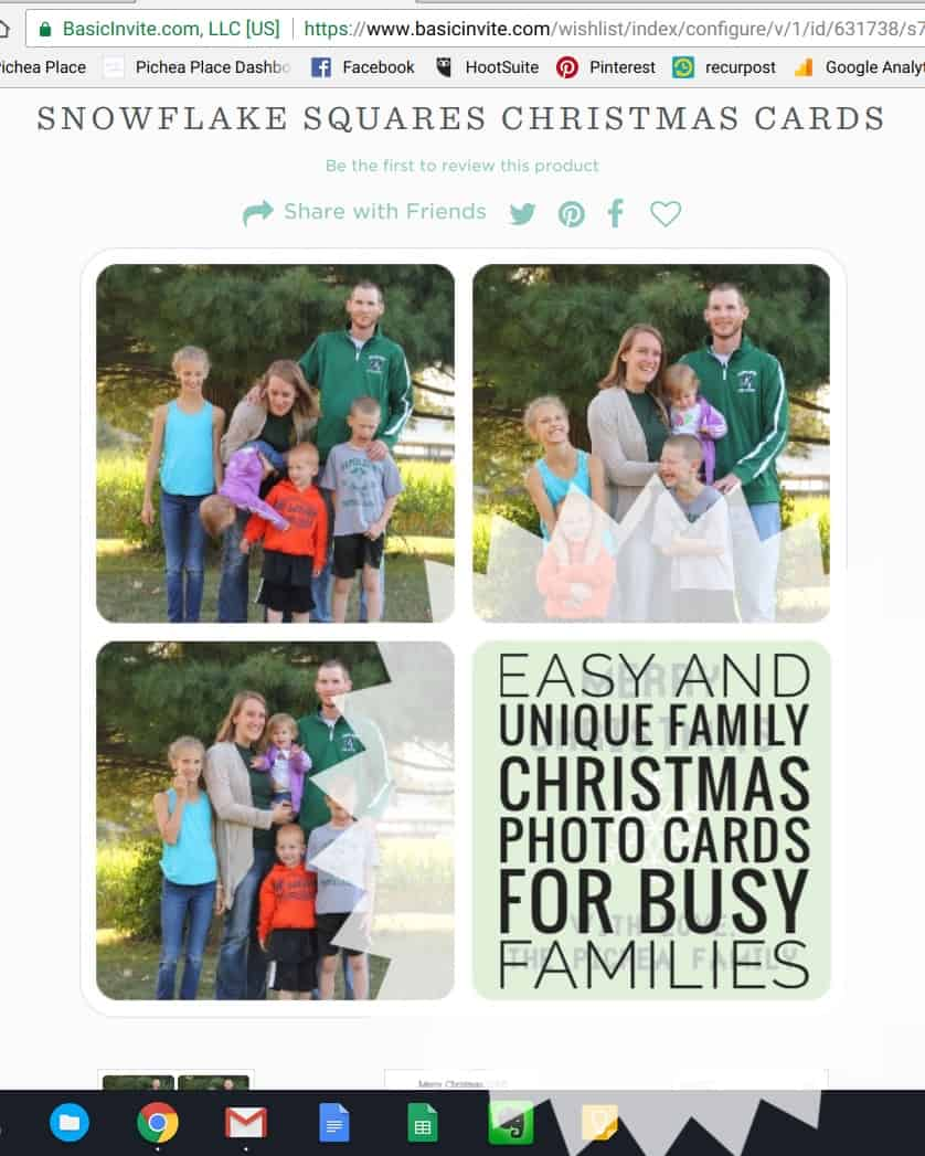 Easy and unique family christmas photo cards for busy families for Unique family christmas cards