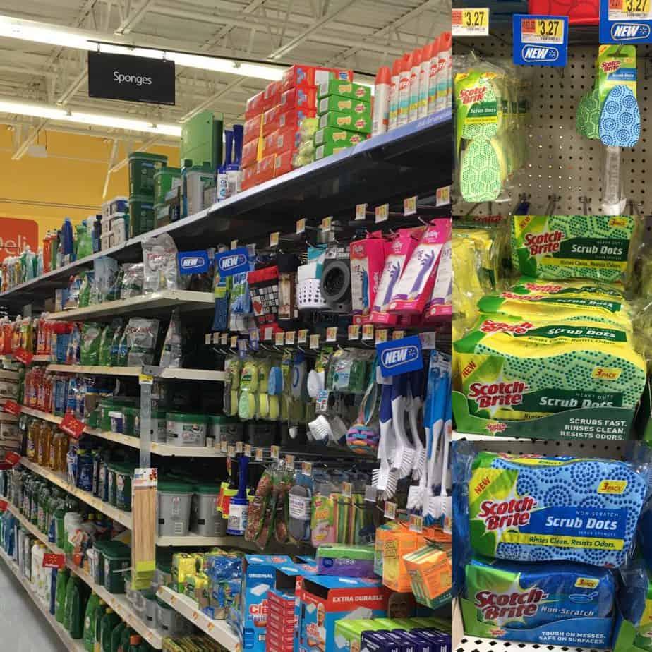 Find Scotch-Brite(R) Scrub Dots at Walmart