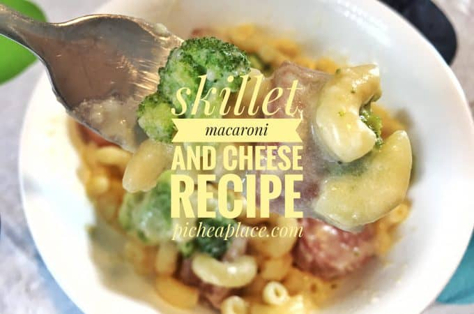 Skillet Macaroni and Cheese [Easy Recipe for Busy Families]