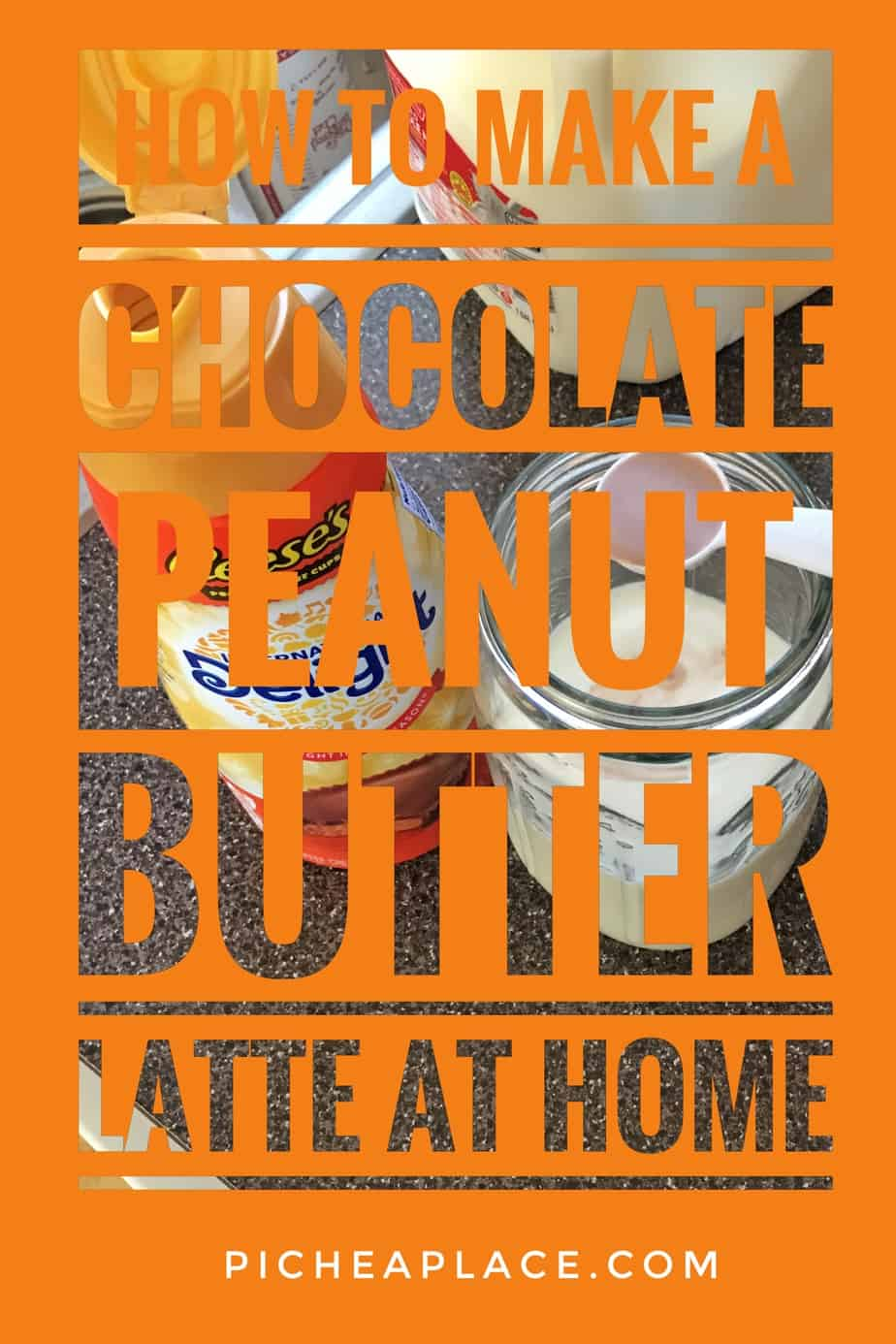 How to Make a Chocolate Peanut Butter Latte at Home