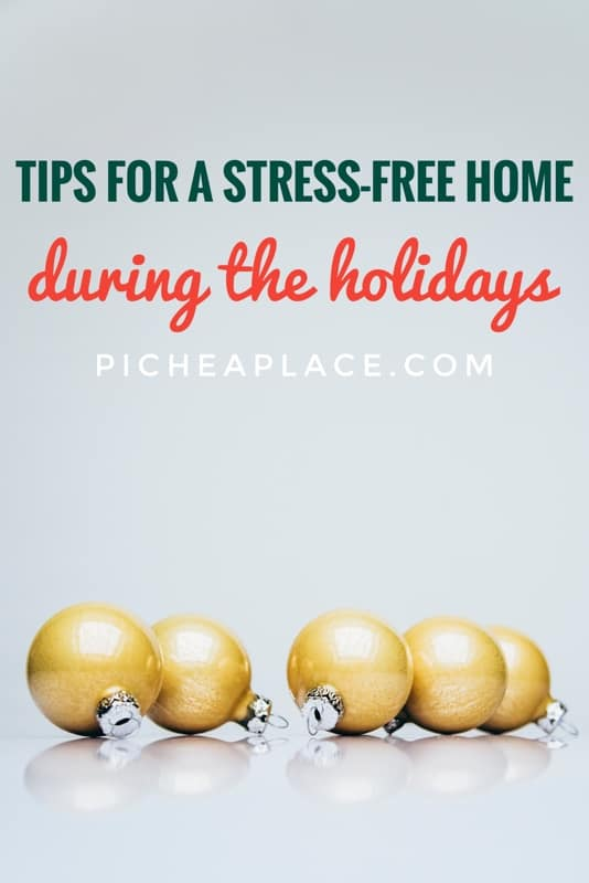 Here are four simple tips for a stress-free home during the holidays to help you reduce the stress in your home and truly enjoy making memories together as a family this Christmas.