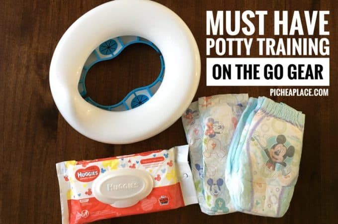 Must Have Potty Training on the Go Gear